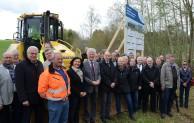 Offizieller Baustart für Qualitätssicherungsanlage des Lörmecke-Wasserwerks