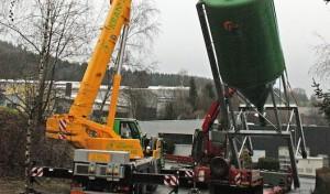 Salz für Wilnsdorfer Straßen: Kommune investierte in neue Silos