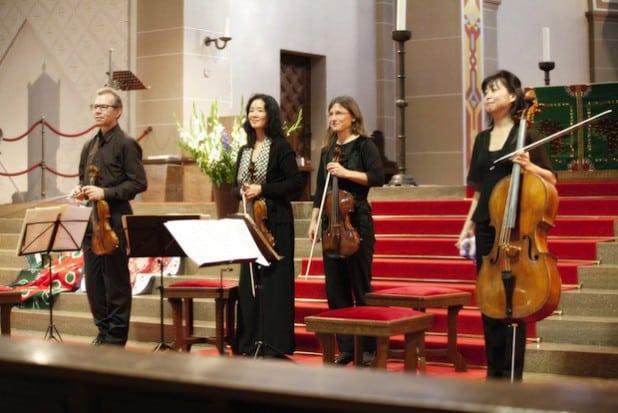 Das Soester Satie-Quartett - Foto: Klaus Esser