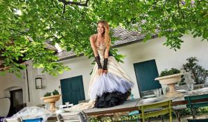 Schönes Haar für die Braut