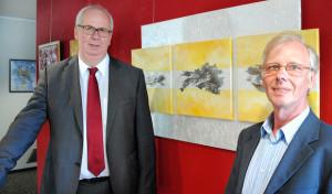 Aus Metall wird Kunst: Werke von Wolfgang Rinschen im Rathaus zu sehen