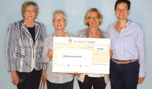 DRK-Frauenverein Siegen e.V. hilft mit 10.000 Euro-Spende