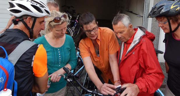 Auch in diesem Jahr können zehn E-Bikes bei der Stadtverwaltung kostenlos ausgeliehen werden (Foto: Stadt Hilchenbach).