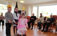 Kindergartenkinder zu Gast im Haus Mutter Anna