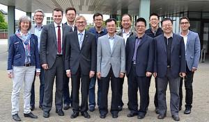 Besuch aus der chinesischen Stadt Tianjin in Iserlohn