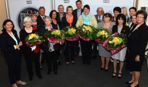 Zehn pflegende Angehörige für Engagement geehrt