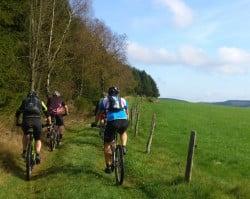 <b>Geführte Mountainbiketouren in Hilchenbach</b>