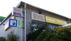 SVB-Tankstelle bietet ab sofort CO2-neurales Erdgas