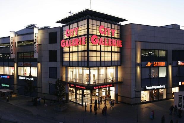 Die City-Galerie in Siegen von außen... (City-Galerie Siegen/ECE Projektmanagement GmbH & Co. KG)