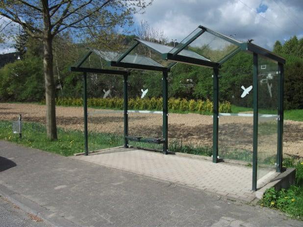 Die Buswartehalle in Heringhausen - Foto: Gemeinde Bestwig