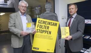"""STOP Folter"": Bezirksregierung zeigt Amnesty-Ausstellung"