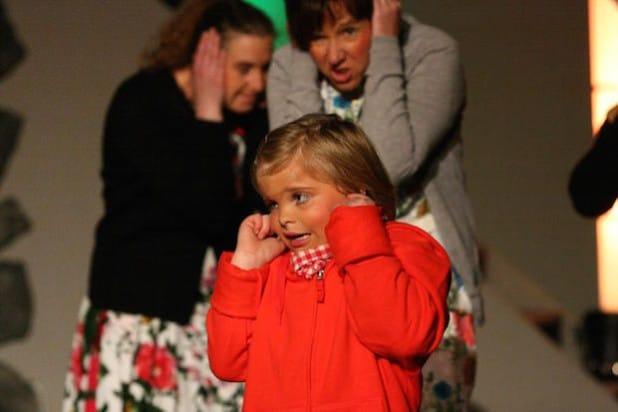 """Eine Szene aus dem aktuellen Musical """"Das kleine Gespenst"""" - Foto: Festspiele Balver Höhle"""