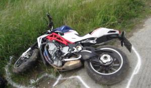 Welver-Dinker: Motorradfahrer schwer verletzt