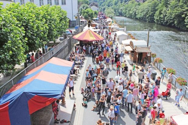 Zum Mittelalter-Festival werden wieder zehntausende Schaulustige erwartet (Foto: Klein/Märkischer Kreis).