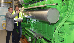 Krombacher Brauerei nimmt Kraft-Wärme-Kopplungs-Anlage in Betrieb