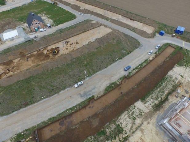 Überblick über die Grabungsfläche (Foto: LWL)