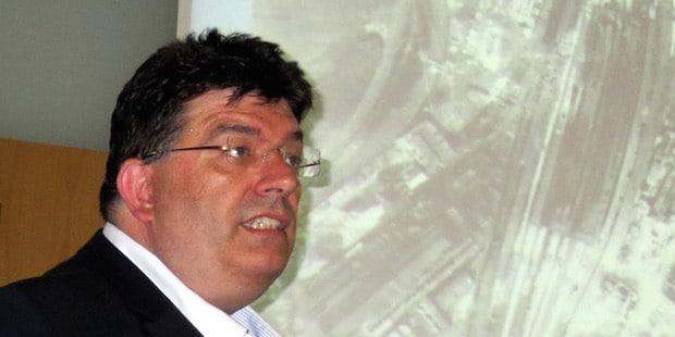 Photo of Dr. Blank sprach über die letzten Kriegsmonate 1944/45