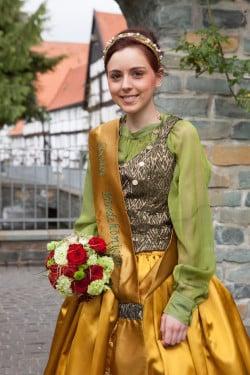 Die Bördekönigin Jale-Katalin Heitbreder (Foto: Wirtschaft & Marketing Soest GmbH)