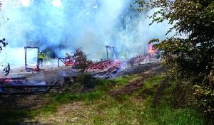 Brand am Wald-Showset im FORT FUN Abenteuerland