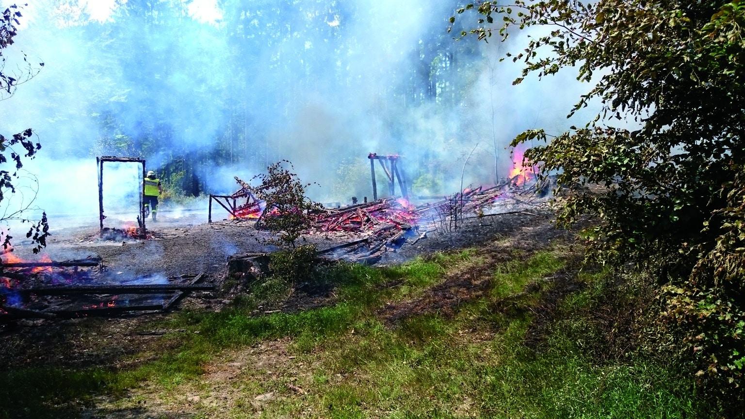 Photo of Brand am Wald-Showset im FORT FUN Abenteuerland