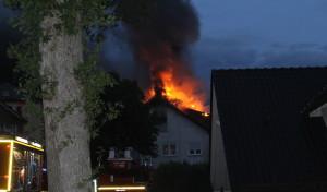 Wenden: Brand in Mehrfamilienwohnhaus