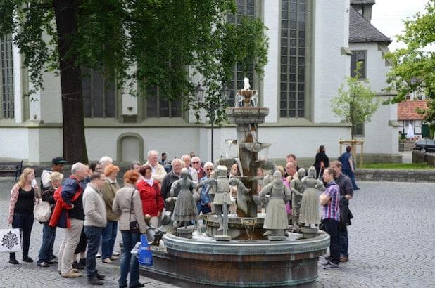 Der Bürgerbrunnen (Foto: Stadt Lippstadt)