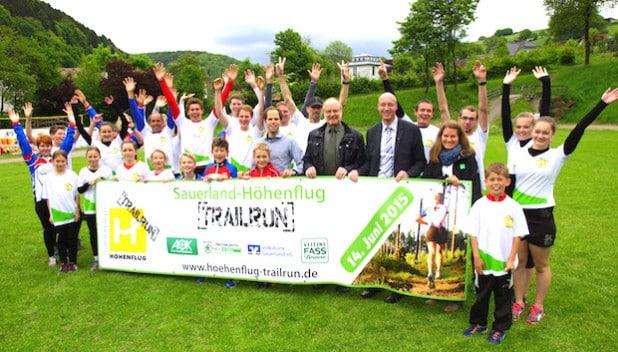 Der Countdown für den Sauerland-Höhenflug-Trailrun läuft, die Vorfreude bei Organisatoren, Sponsoren und Teilnehmern steigt (Foto: Sauerland-Tourismus e.V.)