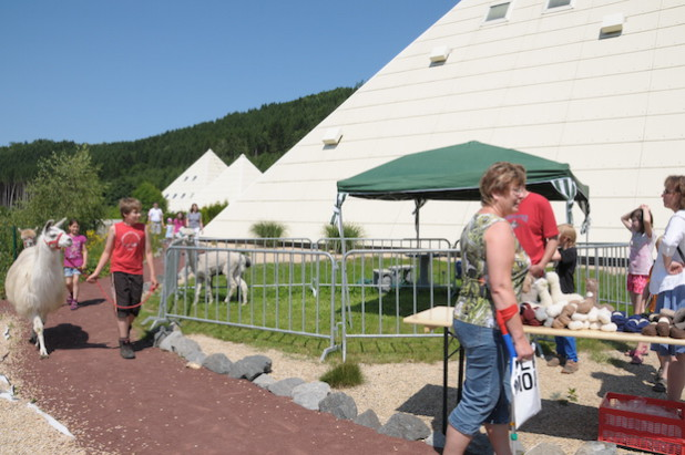 Der Galileo-Markt ist ein Erlebnis für Jung und Alt (Foto: Spreeforum International GmbH/Galileo-Park).