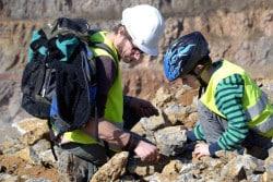 <b>Fossilien- und Mineraliensuche für Kinder</b>