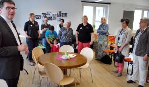 Mittendrin – und ganz aktiv: Neuer Jugendtreff nun offiziell eröffnet
