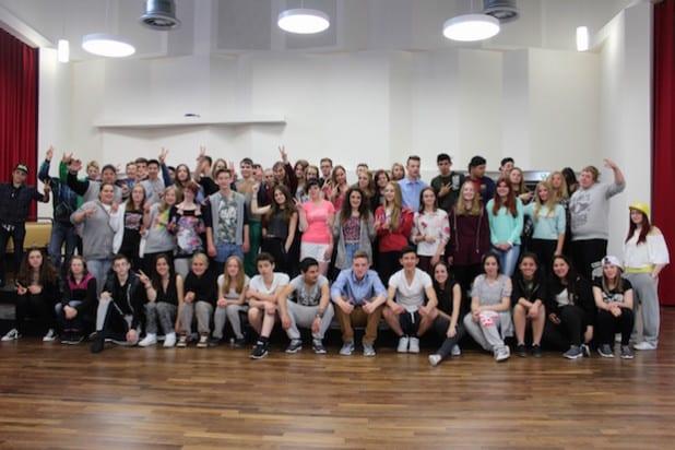 Die Jugendlichen beim Probenwochenende im Musikbildungszentrum SWF in Bad Fredeburg (Foto: Musikschule HSK)