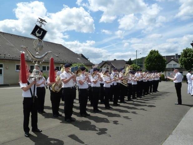Foto: Musikzug der Freiwilligen Feuerwehr Olpe