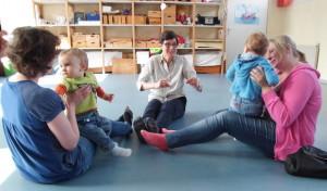"""""""Musik für Babys"""" in der Musikschule Attendorn"""