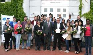 Landrat begrüßt 33 Neubürger aus 9 Ländern