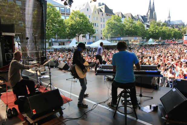 Die Special-Guest-Band - Quelle: mep network GmbH