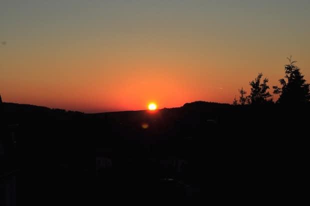Der Sonnenuntergang (Foto: Johanna Behrendt)