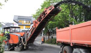 Frischer Asphalt für die Gemeinde Wilnsdorf
