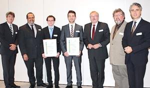 Studienpreis des Kreises Olpe für Philipp Krause und Simon Papenheim