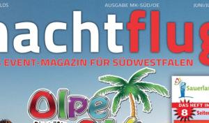 Nachtflug Magazin: Die Sommerausgabe als ePaper jetzt bei SüWeNa runterladen
