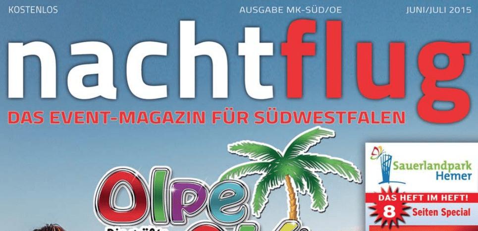 Photo of Nachtflug Magazin: Die Sommerausgabe als ePaper jetzt bei SüWeNa runterladen