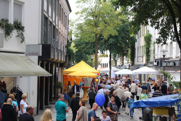 Die Hansestadt Attendorn sucht für das Stadtfest noch interessierte Gruppen, Vereine oder Schulen, die sich präsentieren wollen (Foto: Hansestadt Attendorn).