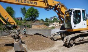 Bauarbeiten zur Erweiterung der Sekundarschule in Drolshagen pünktlich gestartet