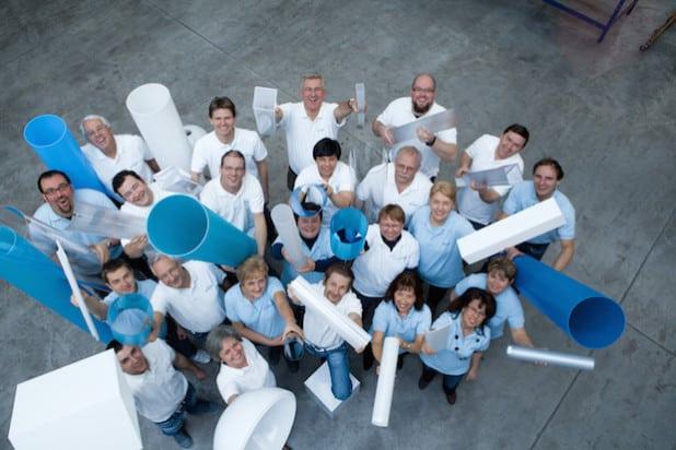 Der Werler Kunststoffverarbeiter Athex setzt bei der Energieversorgung auf den persönlichen und schnellen Service der Stadtwerke Werl (Foto: Athex).