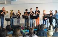 Abschlusskonzert der ersten Bläserklasse der Gemeinschaftsschule Burbach