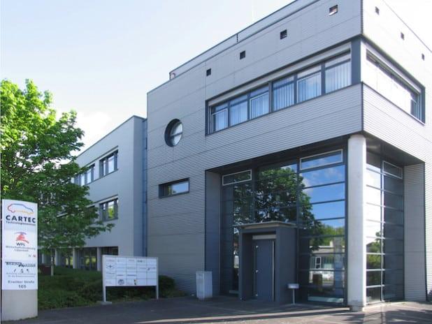 Das Technologiezentrum CARTEC (Foto: Stadt Lippstadt)