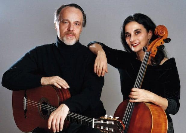 Das Duo Burstein und Legnani - Quelle: Tournee- und Pressebüro Cunningham