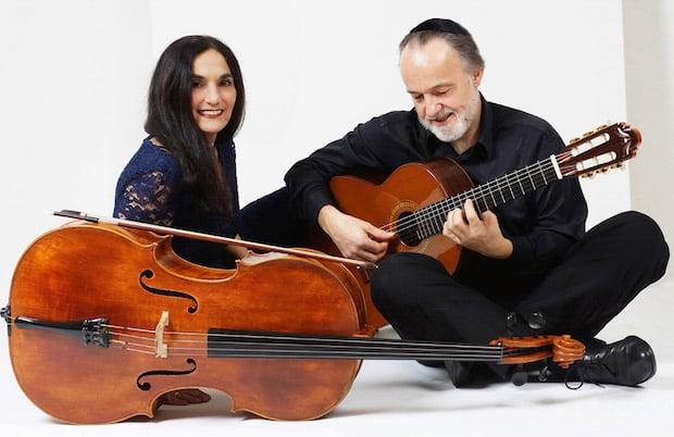 Photo of Duo Burstein & Legnani in der Stadtbücherei Altena