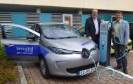Erster Elektro-Dienstwagen für die Stadt Kreuztal