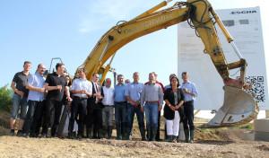 ESCHA: Spatenstich für neues Fertigungsgebäude
