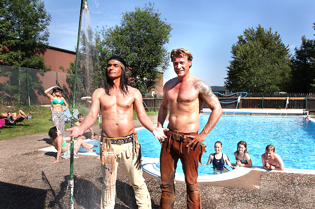 Photo of Winnetou und Old Shatterhand trotzen der Hitzewelle